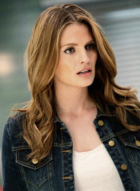 stana katic hair in 2018 kate beckett