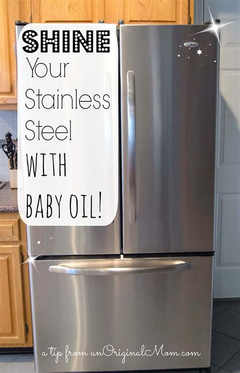 how to shine your stainless steel appliances unoriginal mom