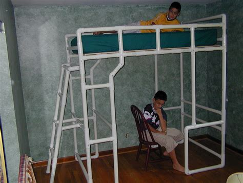 Pvc Bunk Bed Plans Diy Pvc Pipe Pergola Home Design Ideas Pvc Pipe Bunk Bed Intersafe