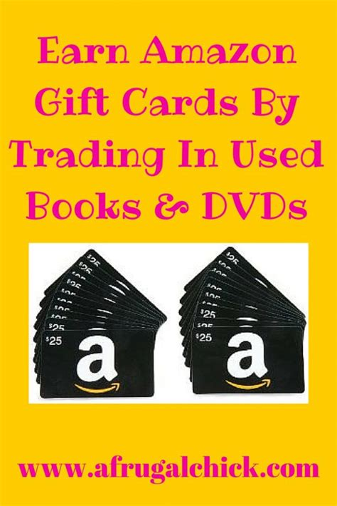 How To Trade Gift Cards - earn amazon gift cards by trading in used books dvds