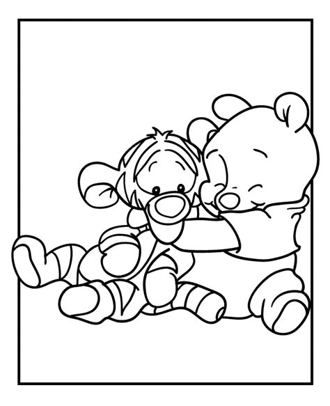 my friends tigger and pooh coloring pages coloring home