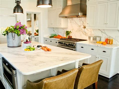 White Kitchen Countertops - our 13 favorite kitchen countertop materials kitchen ideas amp design with cabinets islands