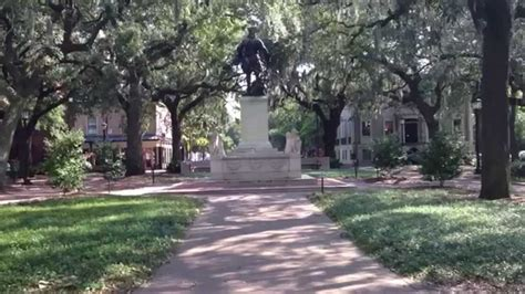 savannah ga forrest gump bench forrest gump savannah bench location youtube