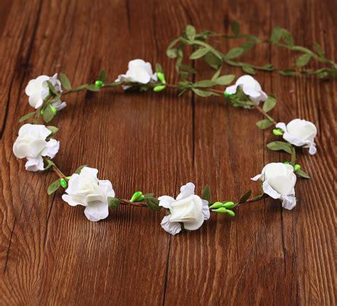 Flower Crown Handmade - wedding handmade flower crown flower wreath for