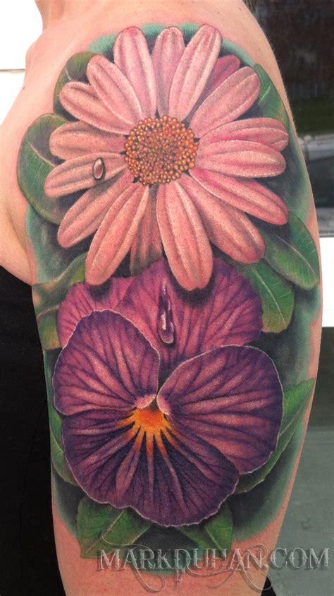 violet flower tattoo violet and by amduhan on deviantart