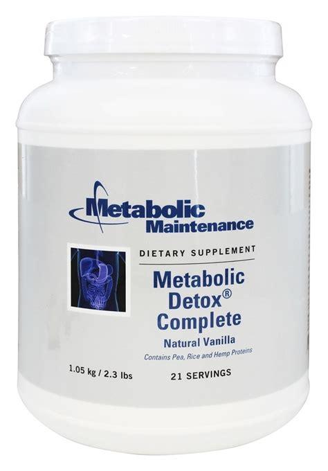 Metabolic Detox by Buy Metabolic Maintenance Metabolic Detox Complete