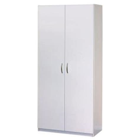 closetmaid 30 in 2 door wardrobe cabinet 12298 the home