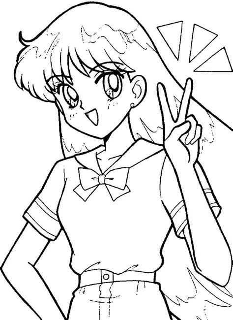 17 Best Images About Sailor Moon Coloring Pages On Sailor Mars Coloring Pages