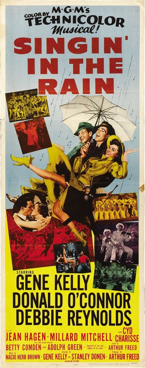 Singin Rain 1952 Beauty Will Save Singin In The Rain Posters And Facts Beauty Will Save