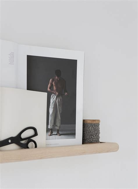 Minimalist Shelf by Melo Stockholm Minimalist Shelf 3 Design Visual