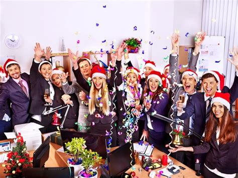 organise a staff christma party the office