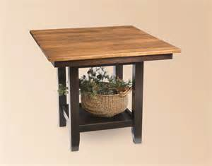 Amish Made Kitchen Tables Amish Kitchen Table Leg Tables Amish Dining Room Tables 46206