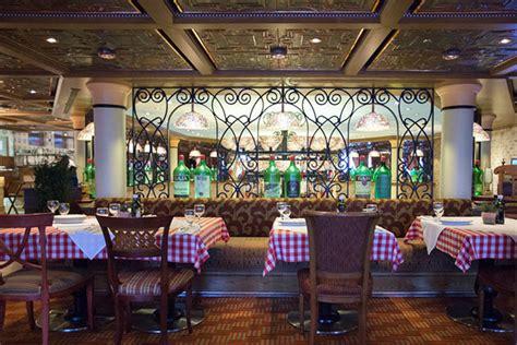 best italian restaurant 7 best italian restaurants on cruises cruise critic