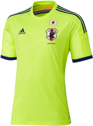 Goalkeeper Mu Away Ls japan 2014 world cup kits released footy headlines