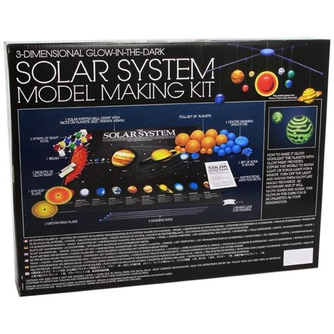 3d solar system model kit raff and friends