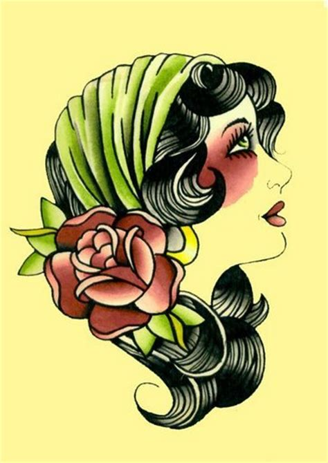 gypsy girl tattoo design our souls tattoos are in