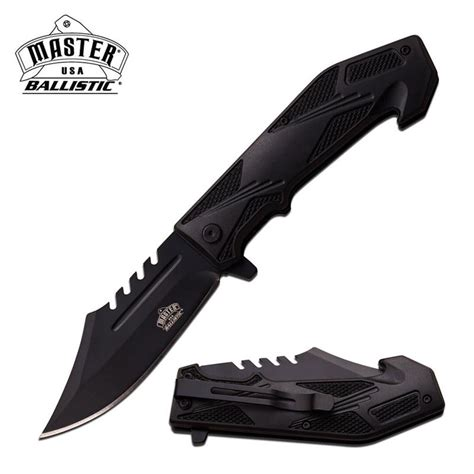 usa knives wholesale master usa ballistic abs handle assisted