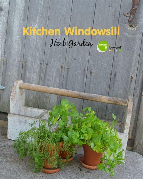Kitchen Windowsill Herb Garden Kitchen Windowsill Herb Garden It Forward
