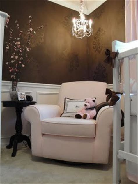pink and brown nursery brown and pink sophisticated nursery design dazzle