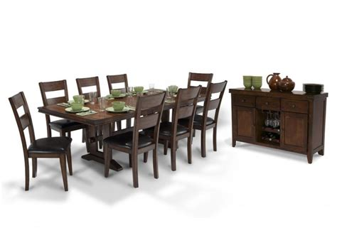 Dining Room Sets Bobs Furniture Dining 10 Set Dining Room Sets Dining