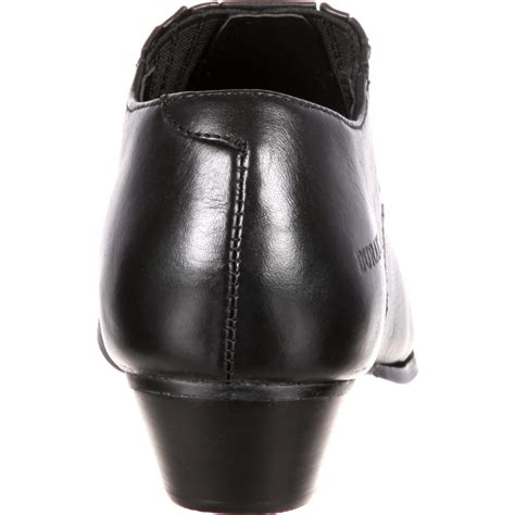 durango s black western shoe boots style rd3520