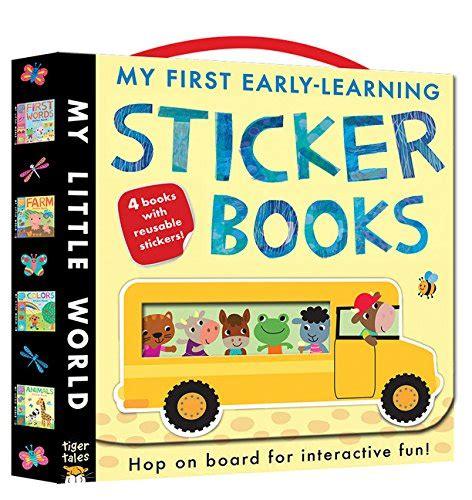 My World Sticker Book my early learning sticker books my world