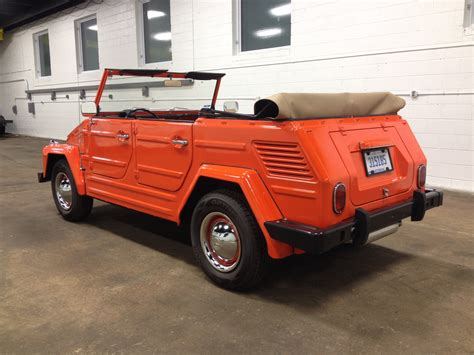 volkswagen thing 1972 volkswagen thing for sale on bat auctions sold for
