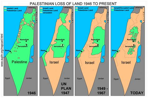israel map today map card of disappearing palestine