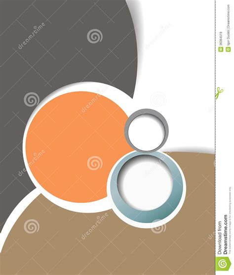 design layout template stock illustration image of