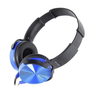 Headphone Sony Bass Biru headphone sony terbaru di kategori headset blibli