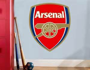 choose size arsenal logo decal removable wall sticker art home decor eat sleep love football club ebay