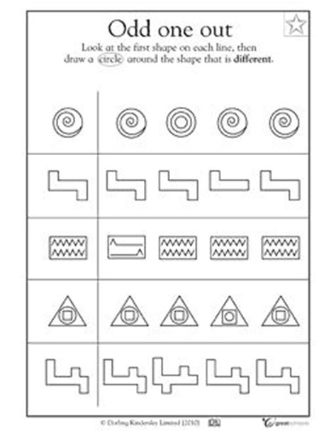 pattern recognition exercises for adults 90 best images about visual perception on pinterest