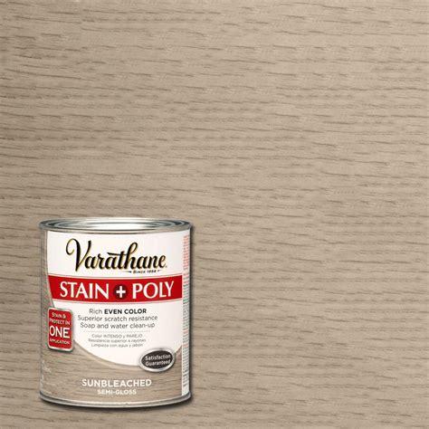 Varathane 1 qt. Sun Bleached Stain and Polyurethane 266173