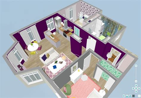 3d floor plans roomsketcher interior design roomsketcher