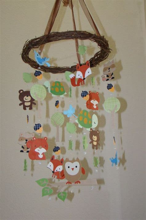 Carters Crib Mobile by Carters Tree Top Friends Woodland Creature Forest Animal