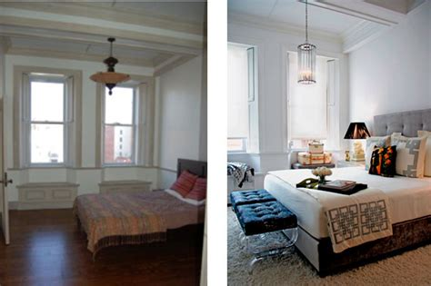 before after a small space bedroom makeover lonny 1000 images about renovation on pinterest ants north