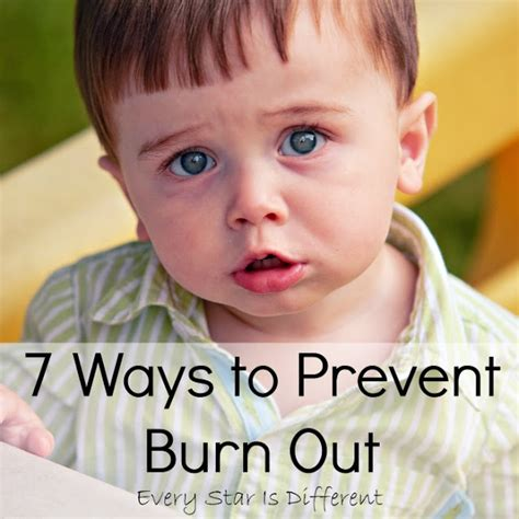 7 Ways To Prevent by 7 Ways To Prevent Burn Out Every Is Different
