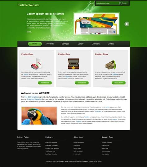 xhtml template scriptmafia org gt particle xhtml template gt print version