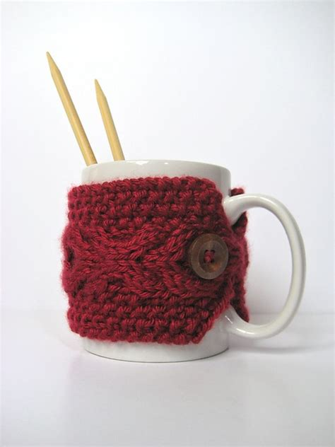 knit coffee mug cozy pattern 17 best images about knitting cup cozy on