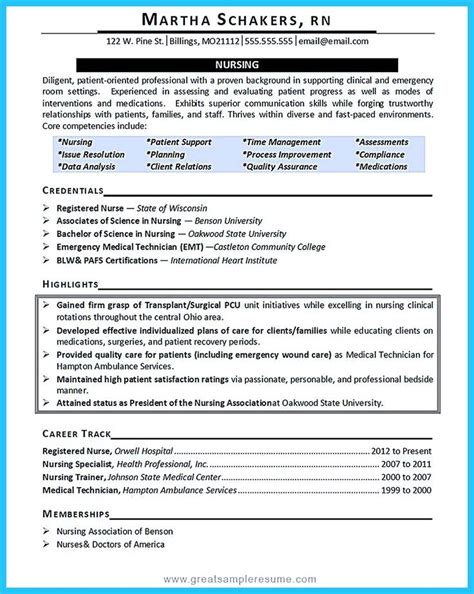 Critical Care Resume by Gallery Of Critical Care Nursing Resume