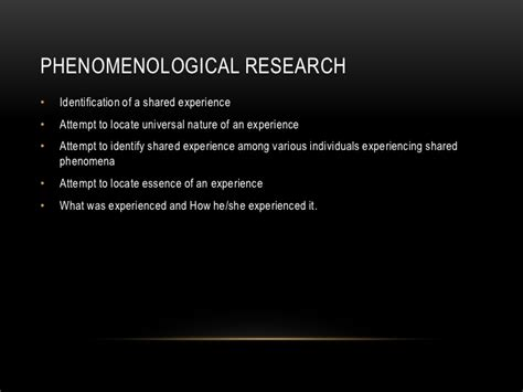 writing in the phenomenological studies in interpretive inquiry books qualitative research phenomenology