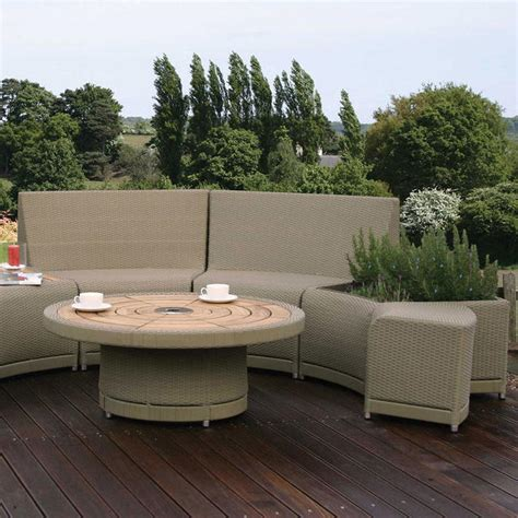 curved outdoor seating uk buy oasis outdoor curved modular seating the worm that