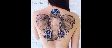 tatouage 233 l 233 phant tout ce qu il faut savoir tattoome