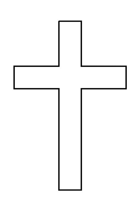 Cross Outline by Cross Clipart Images Clipart Best