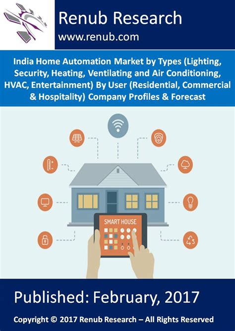 india home automation market by types lighting security
