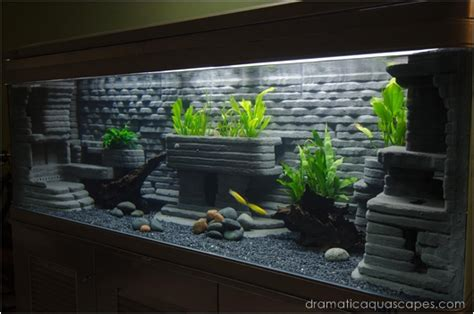 dramatic aquascapes aquarium decorations diy diy aquarium decoration slate