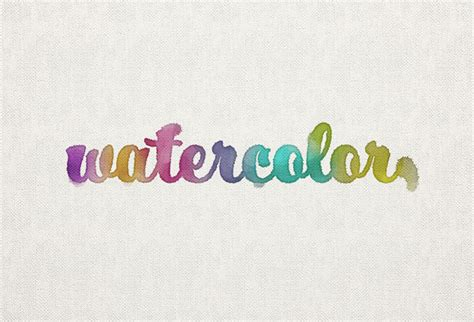 photoshop tutorial watercolor text how to create a watercolor inspired text effect in adobe