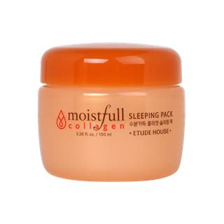 Etude House Moistfull Collagen Sleeping Pack 100 Ml etude house moistfull collagen sleeping pack 100ml yesstyle