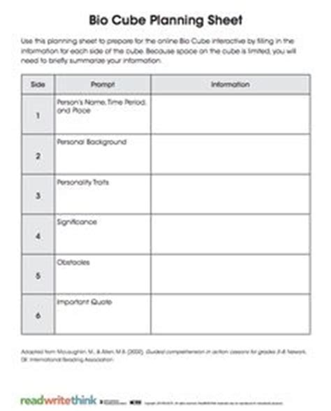 biography planning template biography research on biographies wax museum