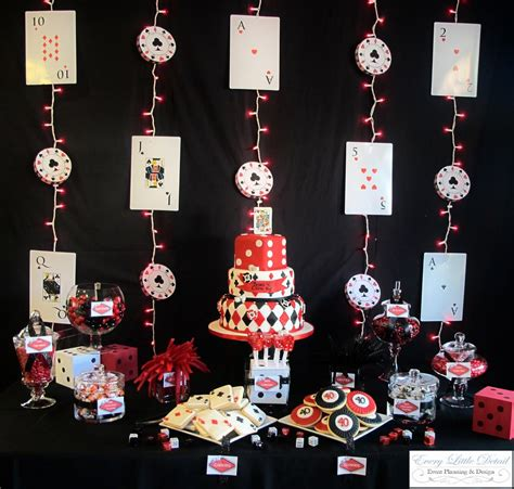 Casino Theme Decorations by Every Detail Event Planning And Design Brian S